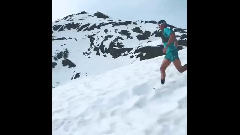 Runners from France on Instagram Running away from 2020 like The best downhills come after the hardest climbs