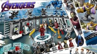 LEGO Мстители: Финал все наборы новинки 2019
