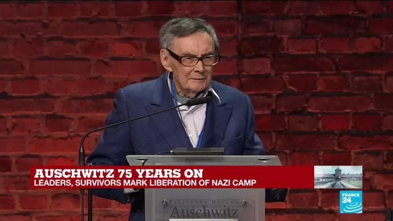 Auschwitz 75 years on Do not be indifferent says death camp survivor Marian Turski