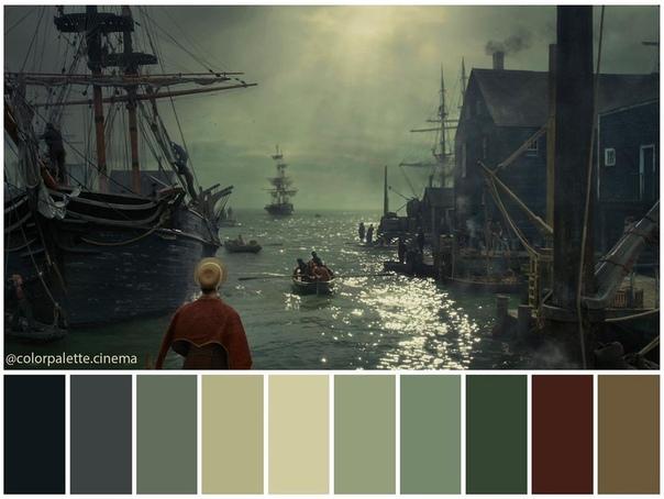 Цветовая гамма драмы «В сердце моря»