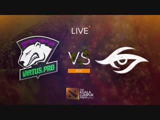 Virtus.pro vs team secret, bo5. гранд-финал the kuala lumpur major